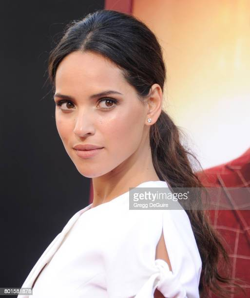 Actress Adria Arjona arrives at the premiere of Warner Bros Pictures' 'The House' at TCL Chinese Theatre on June 26 2017 in Hollywood California