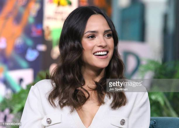 Actress Adria Arjona attends the Build Series to discuss 6 Underground at Build Studio on December 11 2019 in New York City
