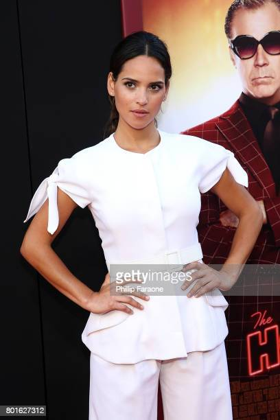 Actress Adria Arjona attends the premiere of Warner Bros Pictures' The House at TCL Chinese Theatre on June 26 2017 in Hollywood California