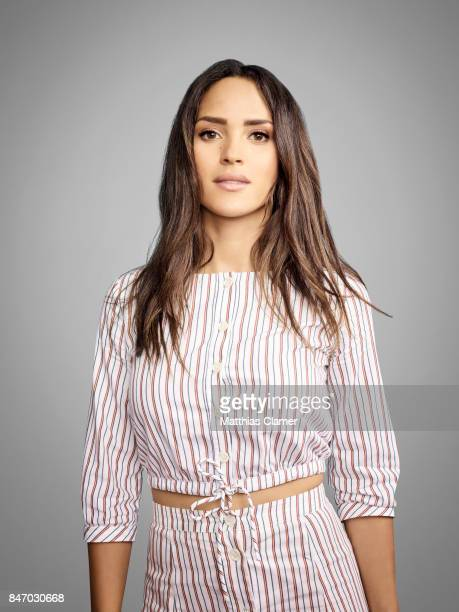 Actress Adria Arjona from 'Emerald City' is photographed for Entertainment Weekly Magazine on July 23 2016 at Comic Con in the Hard Rock Hotel in San...