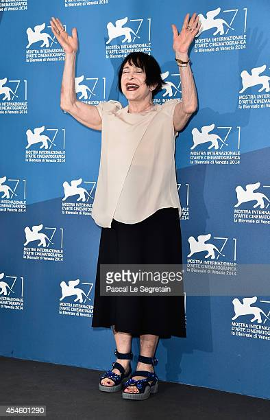 Actress Adriana Asti attend the 'Pasolini' photocall at the Palazzo Del Cinema during the 71st Venice Film Festival on September 4 2014 in Venice...