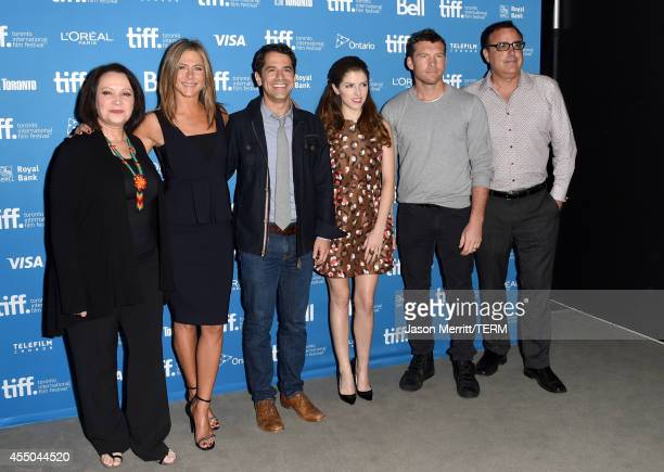 Actress Adriana Barraza actress Jennifer Aniston director Daniel Barnz actress Anna Kendrick actor Sam Worthington and screenwriter Patrick Tobin...