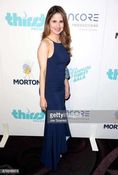Actress Adriana Ferreyr attends the Thirst Project's 8th Annual thirst Gala at Beverly Hills Hotel on April 18 2017 in Beverly Hills California