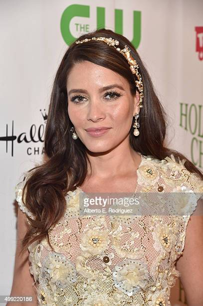Actress Adriana Fonseca attends 2015 Hollywood Christmas Parade on November 29 2015 in Hollywood California