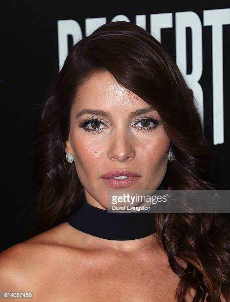 Actress Adriana Fonseca attends a screening of STX Entertainment's 'Desierto' at Regal LA Live Stadium 14 on October 11 2016 in Los Angeles California
