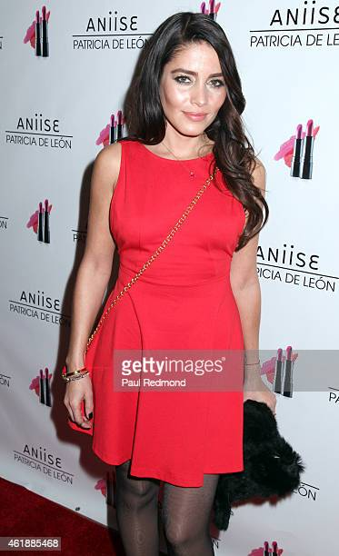Actress Adriana Fonseca attends the Launch Party For 'Aniise By Patricia de Leon' at Nobu on January 20 2015 in Los Angeles California