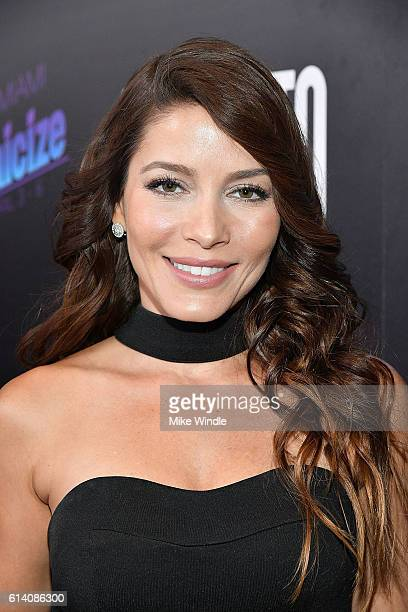 Actress Adriana Fonseca attends the screening of STX Entertainment's 'Desierto' at Regal LA Live Stadium 14 on October 11 2016 in Los Angeles...