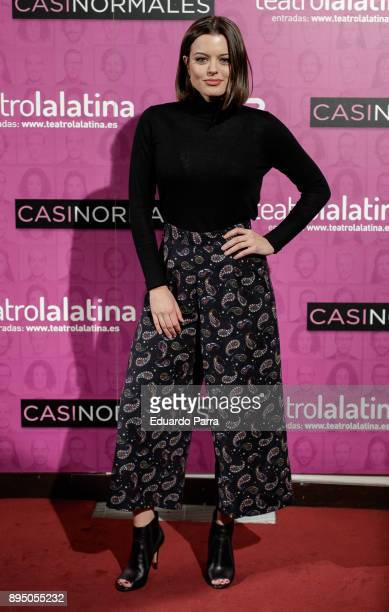 Actress Adriana Torrebejano attends the 'Casi normales' premiere at La Latina theatre on December 18 2017 in Madrid Spain