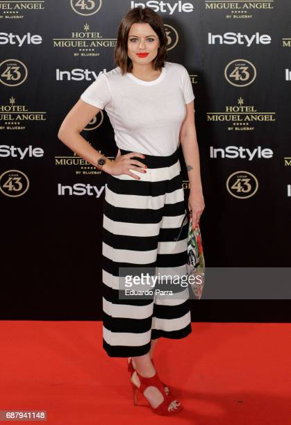 Actress Adriana Torrebejano attends the 'El Jardin del Miguel Angel' party photocall at Miguel Angel hotel on May 24 2017 in Madrid Spain