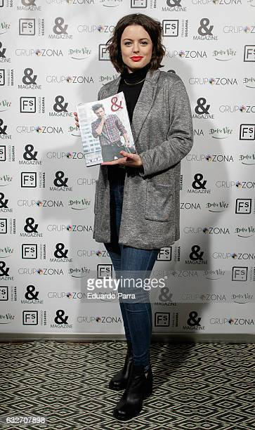 Actress Adriana Torrebejano attends the ' Magazine' party photocall at Segarra store on January 25 2017 in Madrid Spain