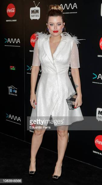 Actress Adriana Torrebejano attends the 'MiM Series' awards photocall at Gran Maestre theatre on December 17 2018 in Madrid Spain