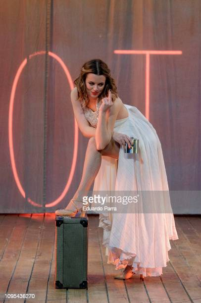 Actress Adriana Torrebejano attends the 'Muerte en el Nilo' theatre play rehearsal at Amaya theatre 4on January 17 2019 in Madrid Spain