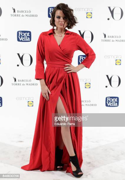 Actress Adriana Torrebejano attends the 'Yo Dona MBFW opening party' photocall at Barcelo hotel on September 13 2017 in Madrid Spain