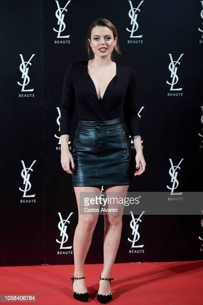 Actress Adriana Torrebejano attends 'YSL Beaute THE SLIM Rouge PurCouture' party at the Santona Palace on November 6 2018 in Madrid Spain