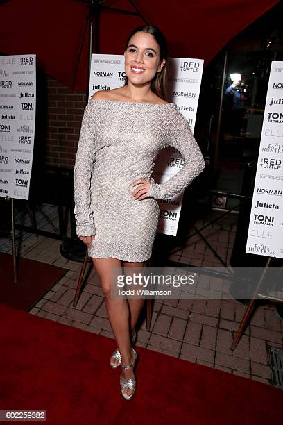 Actress Adriana Ugarte attends the Sony Pictures Classics TIFF Celebration Dinner during the 2016 Toronto International Film Festival at Creme...