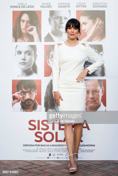 Actress Adriana Ugarte during 'El Sistema Solar' Madrid Photocall on October 25 2017 in Madrid Spain
