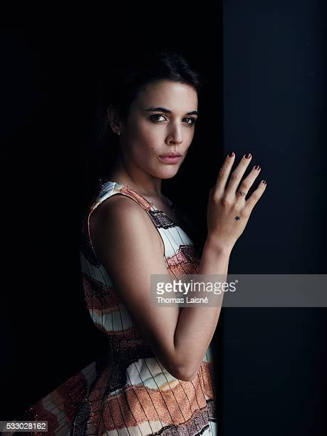 Actress Adriana Ugarte is photographed for Self Assignment on May 18 2016 in Cannes France
