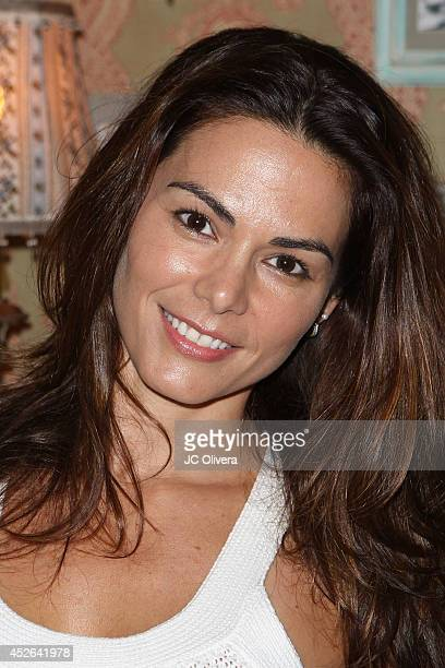 Actress Adriana Yanez attends The Creative Coalition 2014 Summer Soiree at Mari Vanna Los Angeles on July 24 2014 in West Hollywood California