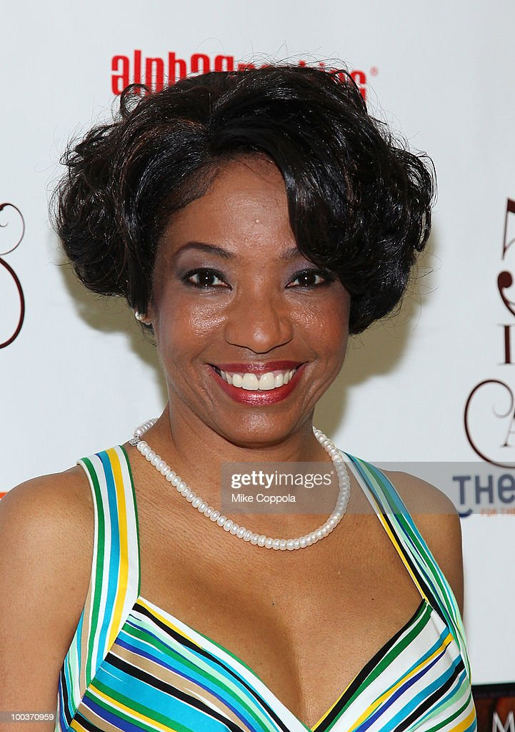 Actress Adriane Lenox arrives at the press room at the 55th Annual Drama Desk Awards at the FH LaGuardia Concert Hall at Lincoln Center on May 23, 2010 in New York City.