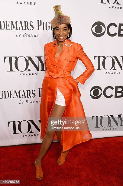 Actress Adriane Lenox attends the 68th Annual Tony Awards at Radio City Music Hall on June 8 2014 in New York City