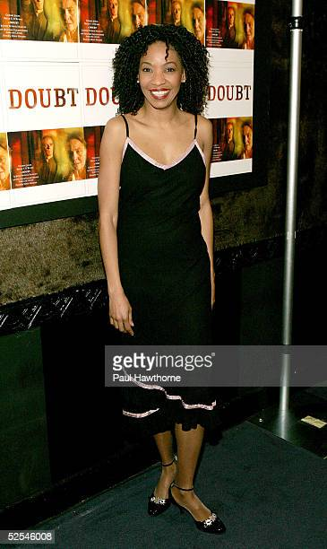 Actress Adriane Lenox attends the opening night of 'Doubt' after party at The Supper Club March 31 2005 in New York City