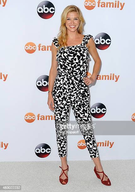 Actress Adrianne Palicki arrives at Disney ABC Television Group's 2015 TCA Summer Press Tour at the Beverly Hilton Hotel on August 4 2015 in Beverly...
