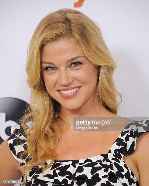 Actress Adrianne Palicki arrives at the Disney ABC Television Group's 2015 TCA Summer Press Tour on August 4 2015 in Beverly Hills California