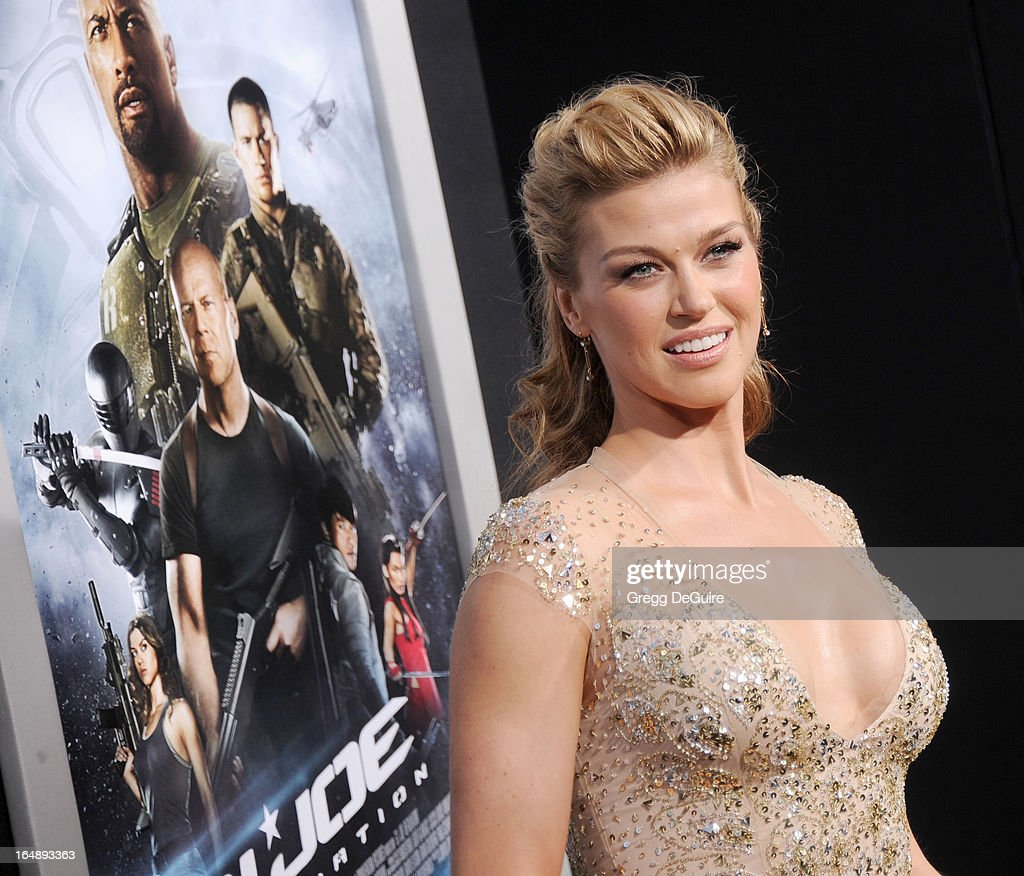 Actress Adrianne Palicki Arrives At The G I Joe Retaliation