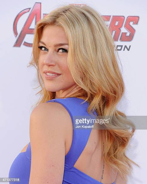 Actress Adrianne Palicki arrives at the Los Angeles Premiere Marvel's Avengers Age Of Ultron at Dolby Theatre on April 13 2015 in Hollywood California