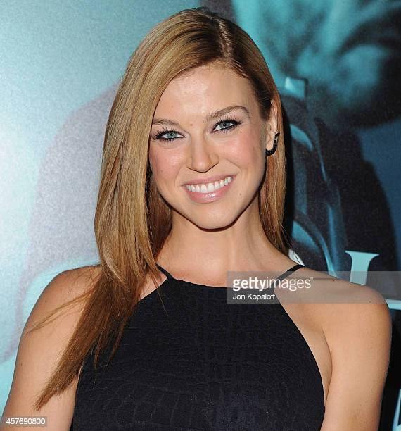 Actress Adrianne Palicki arrives at the Los Angeles special screening 'John Wick' at ArcLight Hollywood on October 22 2014 in Hollywood California