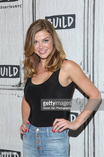 Actress Adrianne Palicki attends Build Series to discuss The Orville at Build Studio on October 4 2017 in New York City