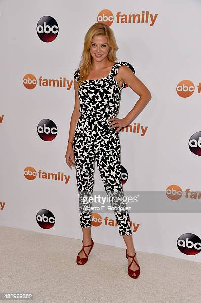 Actress Adrianne Palicki attends Disney ABC Television Group's 2015 TCA Summer Press Tour at the Beverly Hilton Hotel on August 4 2015 in Beverly...