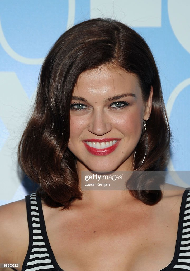 Actress Adrianne Palicki attends the 2010 FOX Upfront after party at Wollman Rink, Central Park on May 17, 2010 in New York City.