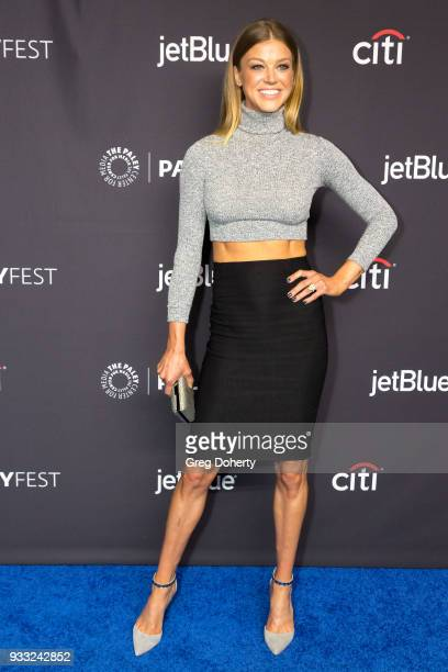 "Actress Adrianne Palicki attends the 2018 PaleyFest Los Angeles - FOX's ""The Orville"" at Dolby Theatre on March 17, 2018 in Hollywood, California."