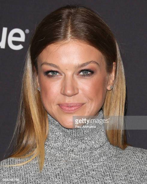 Actress Adrianne Palicki attends the 2018 PaleyFest screening of FOX's The Orville at the Dolby Theatre on March 17 2018 in Hollywood California