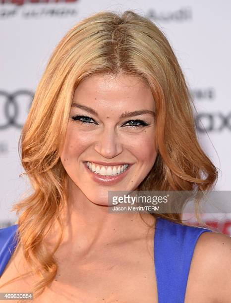 Actress Adrianne Palicki attends the premiere of Marvel's Avengers Age Of Ultron at Dolby Theatre on April 13 2015 in Hollywood California