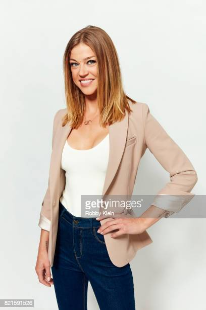 Actress Adrianne Palicki from FOX's 'The Orville' poses for a portrait during ComicCon 2017 at Hard Rock Hotel San Diego on July 22 2017 in San Diego...