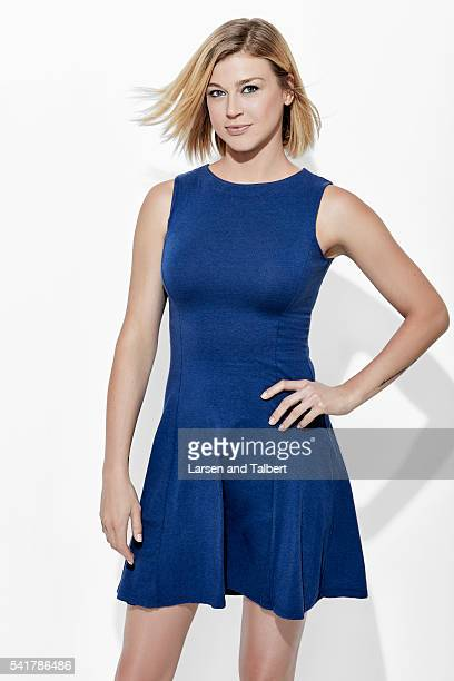 Actress Adrianne Palicki is photographed for Entertainment Weekly Magazine at the ATX Television Fesitval on June 10 2016 in Austin Texas