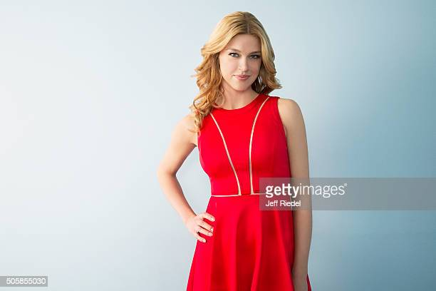 Actress Adrianne Palicki is photographed for TV Guide Magazine on January 14 2015 in Pasadena California