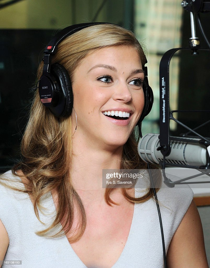 Actress Adrianne Palicki visits Cosmo Radio at the SiriusXM Studios on March 5, 2013 in New York City.