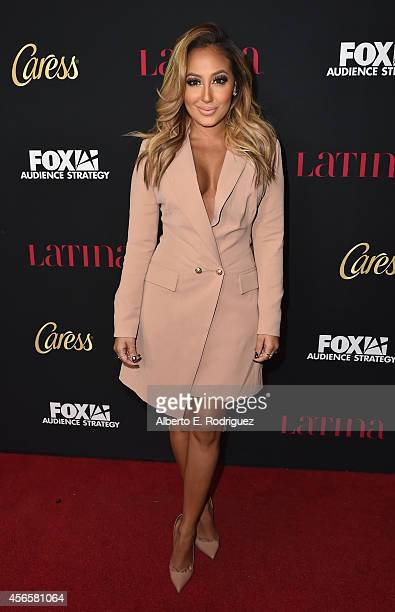 Actress Adrienne Bailon attends LATINA Magazine's Hollywood Hot List party at the Sunset Tower Hotel on October 2 2014 in West Hollywood California