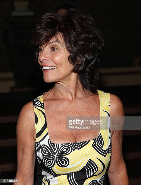 Actress Adrienne Barbeau arrives at Celebrating Bea Arthur a memorial for friends and family of entertainment icon Beatrice Arthur at the Majestic...