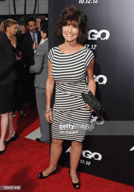 Actress Adrienne Barbeau arrives at the Los Angeles Premiere Argo at AMPAS Samuel Goldwyn Theater on October 4 2012 in Beverly Hills California