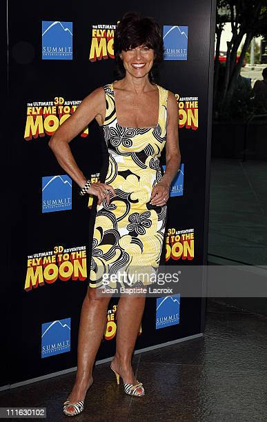 Actress Adrienne Barbeau arrives at the Premiere Of 'Fly Me To The Moon' at the DGA on August 3 2008 in Los Angeles California