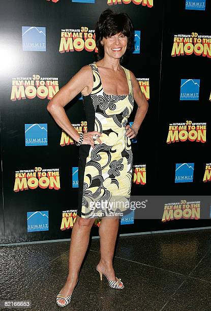Actress Adrienne Barbeau attends the Los Angeles premiere of Fly Me to the Moon at the DGA Theater on August 3 2008 in Los Angeles California