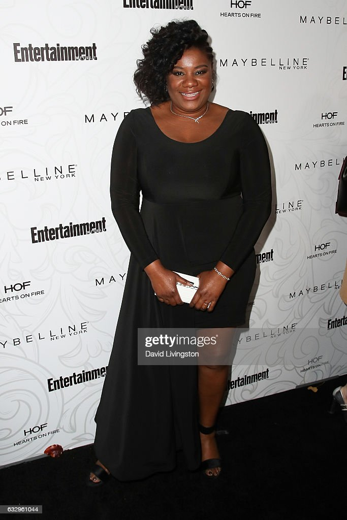 Actress Adrienne C. Moore arrives at the Entertainment Weekly celebration honoring nominees for The Screen Actors Guild Awards at the Chateau Marmont on January 28, 2017 in Los Angeles, California.