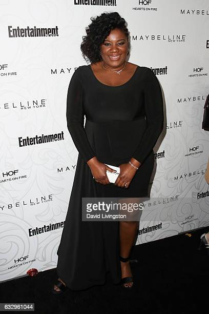Actress Adrienne C Moore arrives at the Entertainment Weekly celebration honoring nominees for The Screen Actors Guild Awards at the Chateau Marmont...