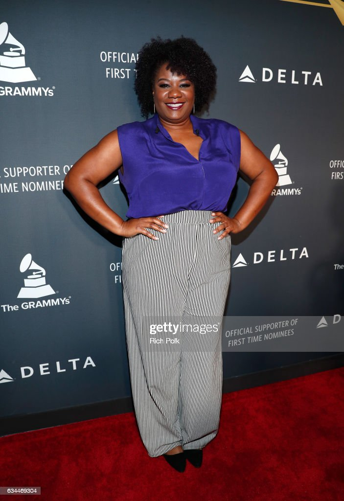 Actress Adrienne C. Moore attends Delta Air Lines official Grammy event featuring private performance and interactive evening with Halsey at Beauty & Essex, adjacent to the new Dream Hollywood to celebrate the 59th Annual GRAMMY Awards on February 9, 2017 in Los Angeles, California.