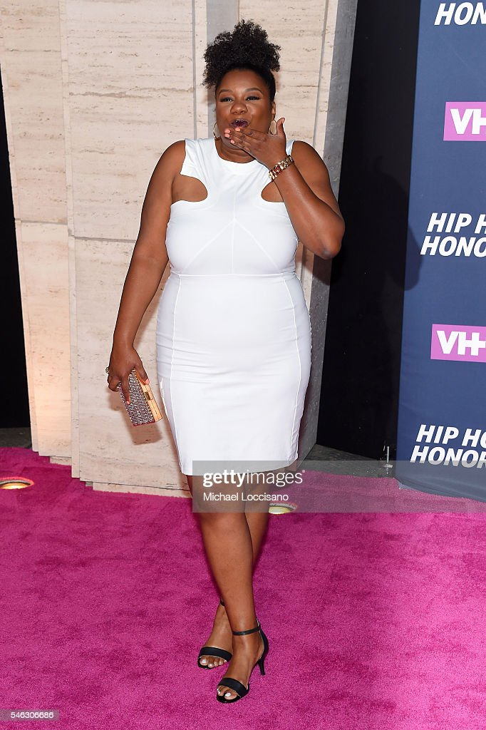 Actress Adrienne C. Moore attends the VH1 Hip Hop Honors: All Hail The Queens at David Geffen Hall on July 11, 2016 in New York City.