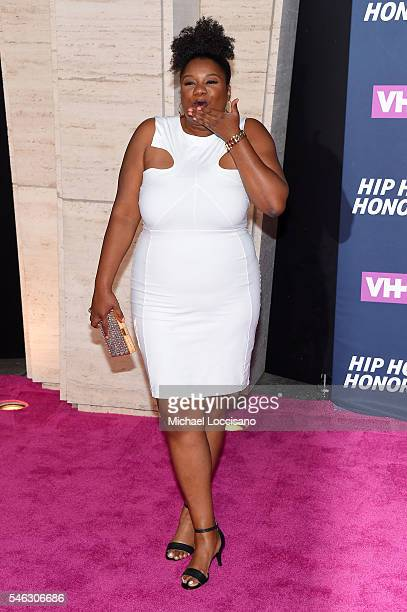 Actress Adrienne C Moore attends the VH1 Hip Hop Honors All Hail The Queens at David Geffen Hall on July 11 2016 in New York City